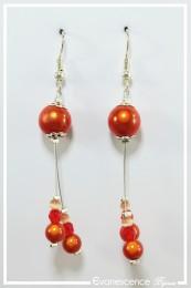 Boucles d'oreilles Heaven - Couleur Orange