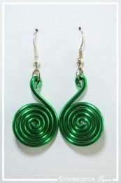 Boucles d'oreilles Pastille - Couleur Vert