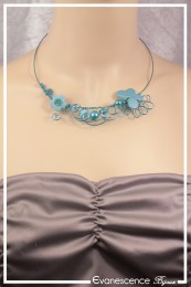 Collier Becky - Couleur Turquoise
