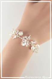 Bracelet Capucine - Couleur Crystal