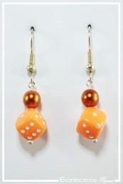 Boucles d'oreilles Garmin - Couleur Orange