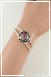 Bracelet Cachemire - Couleur Rose