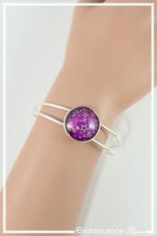 Bracelet Étoile - Couleur Fuchsia