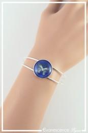 Bracelet Papillon - Couleur Bleu nuit
