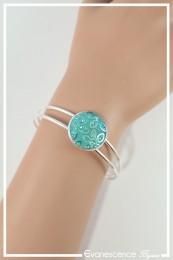 Bracelet Goldy - Couleur Turquoise