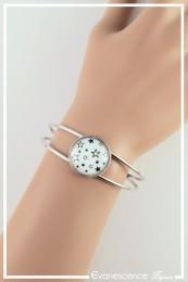Bracelet Étoile - Couleur Noir et Blanc