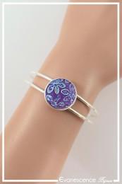 Bracelet Goldy - Couleur Violet