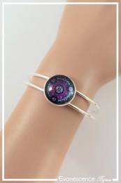 Bracelet Mandala - Couleur Noir