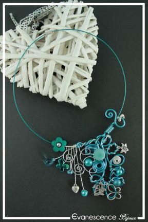 tour-de-cou-cable-nenuphar-couleur-argent-et-turquoise-sur-fond-noir