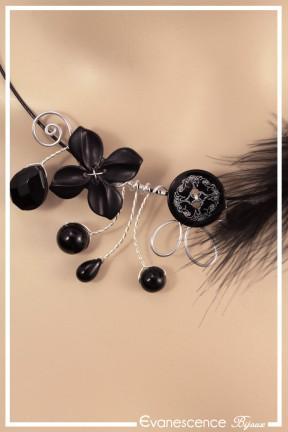 tour-de-cou-cable-nala-couleur-argent-et-noir-zoom