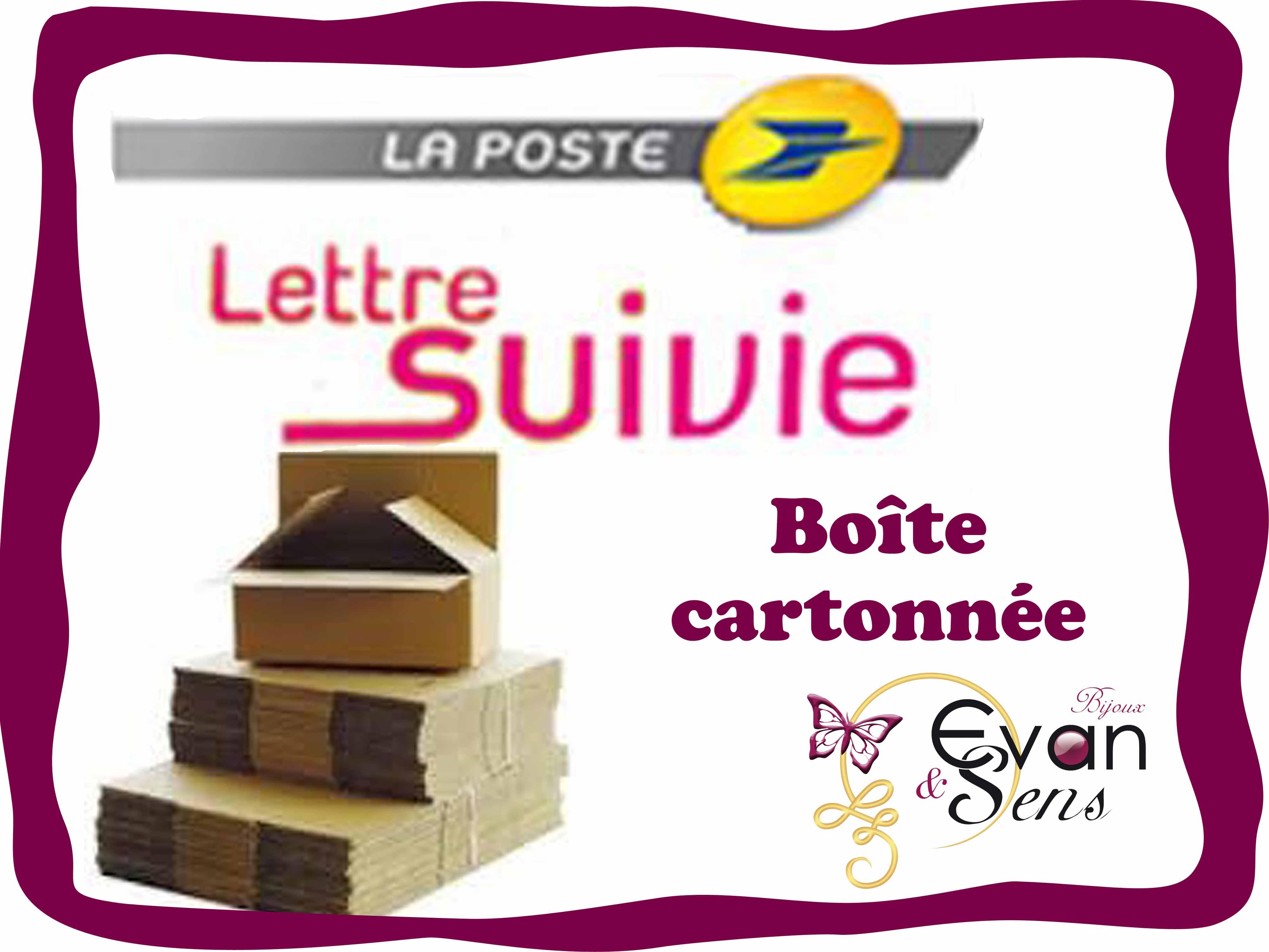 Lettre Suivie boîte cartonnée 100 g